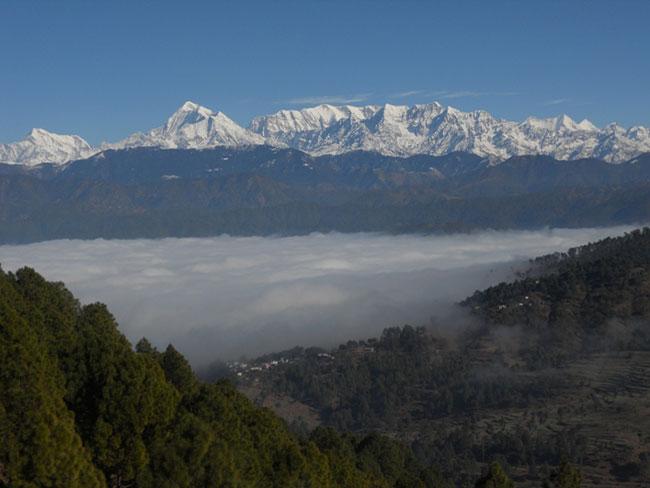 Kausani Himalayas